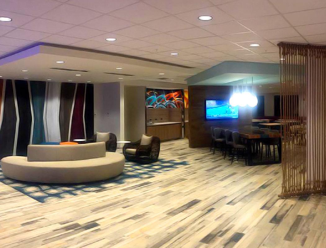 Lobby of Fairfield Inn, Clearwater, FL