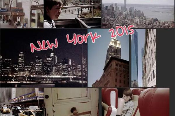 Photo of Collage of Danielle's family's trip to NYC