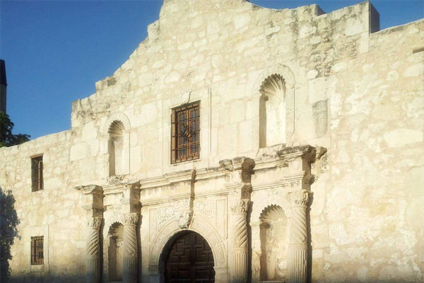 Photo of the Alamo from Danielle's family trip